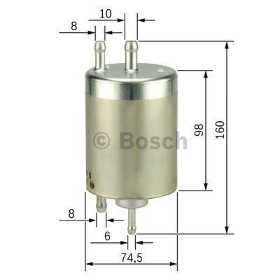 Kraftstofffilter Benzinfilter BOSCH 0 450 915 003