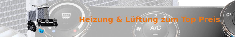 Auto Ersatzteile für Heizung, Gebläse und Lüftung günstig kaufen | MKS Autoteile