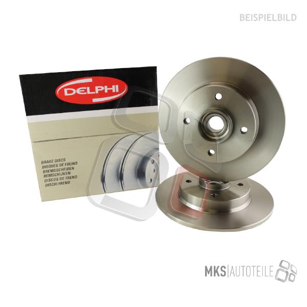 2x Bremsscheibe für Bremsanlage Vorderachse ATE 24.0130-0244.1