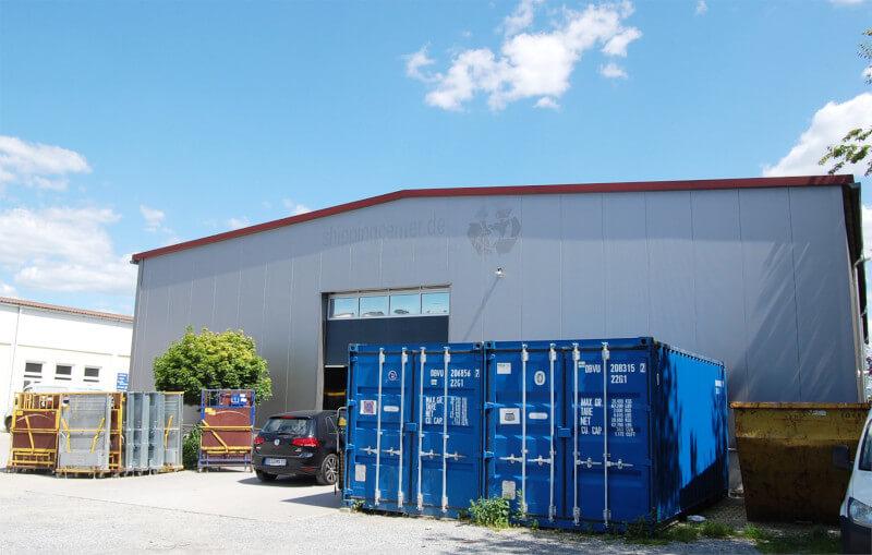 Logistikzentrum Außenansicht MKS Autoteile